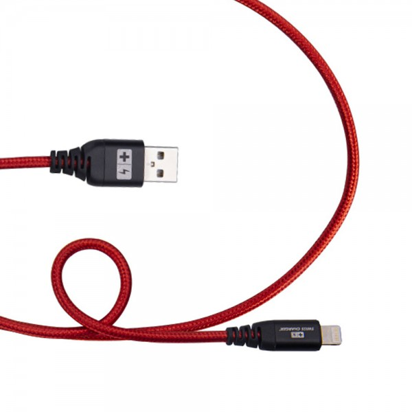 Swiss Charger SCC-10051 iPhone Hızlı Şarj ve Data Kablosu Şarj ve Data Kabloları