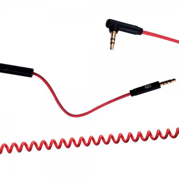 Swiss Charger SCC-10019 Mikrofonlu Ses Kablosu  Ses ve Görüntü Kabloları